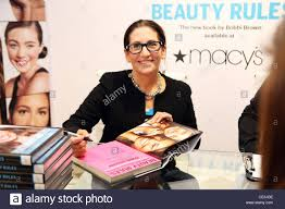 makeup artist bobbi brown signs her new book beauty rules at macy s herald square new york city usa 09 11 10