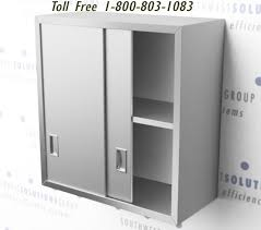 stainless steel wall mounted cabinets
