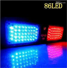 led emergency light 86 led strobe light car visor light visor strobe ltrobe light car warning light led car lighting sun visor fire car deck led lights for