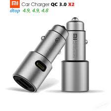 <b>Оригинальное</b> автомобильное <b>зарядное устройство Xiaomi</b> QC3 ...