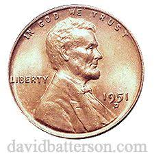 Wheat Penny Value Chart 1800 To 1959 1951 D Wheat Penny Value Wheat Penny Value Penny Values