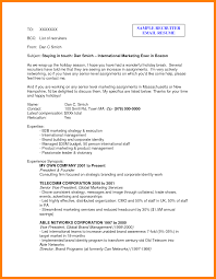 Gallery Of Resume Cover Letter Examples Unknown Recipient