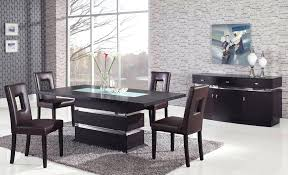 wood and glass dining table sets brown pedestal dining set with glass inlay round glass and
