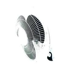 outdoor oscillating wall fan mount in 3 sd misting at outd