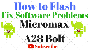 Micromax A28 Bolt Flash done with Flash ...