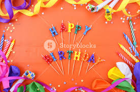 Happy Birthday Background Images Happy Birthday Background With Decorated Borders With Party