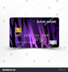 Modern Credit Card Design Purple Modern Credit Card Design With Inspiration From The