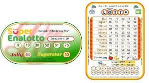 Launched in 1997 by a private corporation, the superenalotto is a modification of enalotto in the 1950s. Lotto Draws Today And Superenalotto Numbers On Tuesday 16 February 2021 Archyde