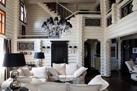 Living Rooms With Black Furniture Black And White Home Decor Small Living Rooms With Modern