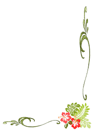 simple frame border design. Floral Clipart Simple Flower Border #14 Frame Design