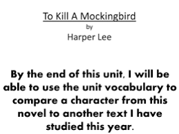 to kill a mockingbird essay topics important vocabulary