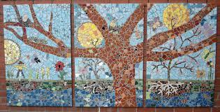 Simple Mosaic Art Designs Community Mosaic Tracey Cartledge Artist