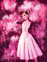 Audrey Hepburn Birthday Tribute - Pink ...