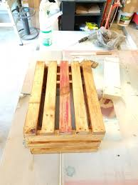 how to add color to a wooden crate the hubby way upcycled plantstand