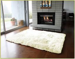 white sheepskin rug 46 home design ideas 4x6 sheepskin rug