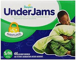 Underjams Size Chart Pampers Underjams Size 7 46 Count B005ti8118 Amazon