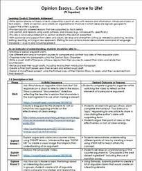Free Stem Opinion Essay Persuasive Essay Unit Persuasive