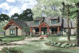 Craftsman Style House Plan   Four Bedrooms   Plan          middot  This is an artist    s rendering of Craftsman Home Plan