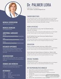 Medical Resume Free 10 Best Medical Resume Examples Templates Download