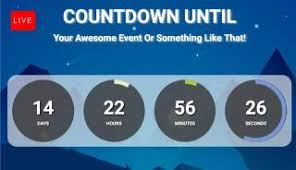countdown templates black friday countdown for facebook live