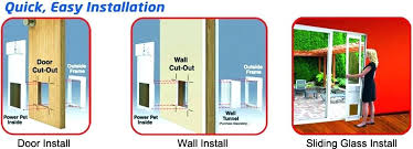 how to install a pet door how to install pet door easy installation in doors walls