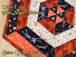 Sister Of The Divide: Candy Corn Table Topper Tutorial & Candy Corn Table Topper Tutorial Adamdwight.com