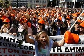 Resultado de imagem para fotos dos protestos na grecia