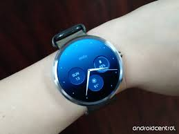 moto android watch. motorola connect update brings new watch faces, ui and more moto android