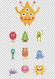 Cartoon Monster Png Clipart 1000000 Area Art Baby Toys
