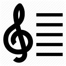 A Music Staff Melody Music Music Notes Music Staff Notes Stave Treble Clef Icon