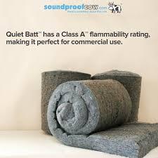 quiet batt soundproofing insulation