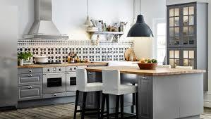 ikea kitchen featuring a kitchen island