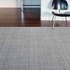 contemporary rug patterned wool polyester fusion