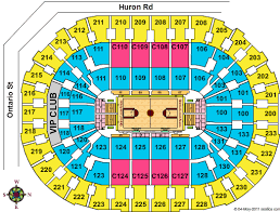 Quicken Loans Seating Chart Cleveland Arena Seating Chart