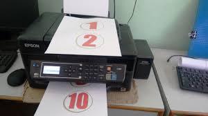 Print Speed Testing Of Epson L565 Color Printer Standard High
