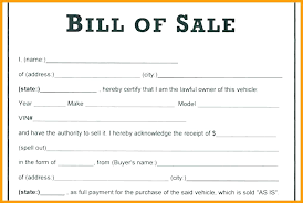 House Bill Of Sale Template Awesome Example Of Bill Sale For Car New 48 Free Documents Simple Sample