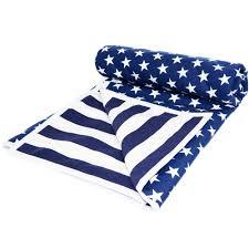 stars and stripes bassinet cot comforter