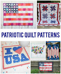 Patriotic Quilt Patterns Inspiration 48 Perfectly Patriotic Quilt Patterns
