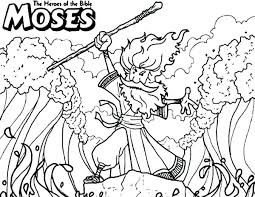 Coloring Pages Moses Coloring Pages For Sunday School Free