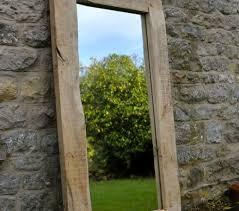 rustic wood framed mirrors. Wood Framed Mirrors For Sale Large Mirror Handmade Oak Frame Traditional Rustic Best Design Interior