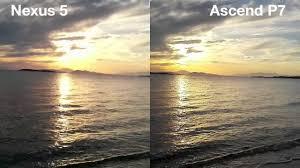 LG Nexus 5 vs Huawei Ascend P7 - YouTube