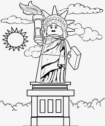 Collection of Landmarks Around The World Coloring Pages - A ...