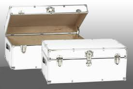 white trunk coffee table with storage chest coffee table multifunction furniture