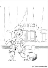 coloring pages zootopia coloring pages pictures to print and color last updated may free printable coloring