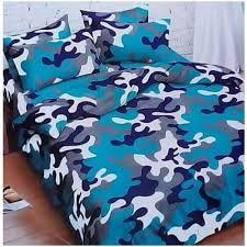 camouflage bedding set multicolour