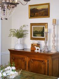 Great Scaled Buffet Decor. RMS_LuLuD-antique-french-dining-room -buffet_s3x4_lg