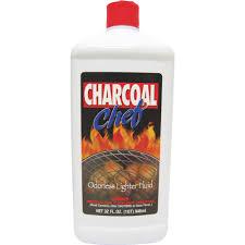charcoal chef lighter fluid charcoal starter