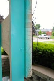Valspar Turquoise Spray Paint Diy Simple Lemonade Stand Under 40 Guest Post