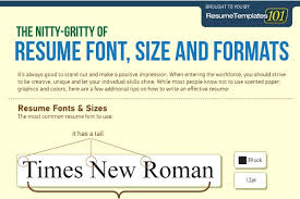 Good Resume Fonts Stunning Best Fonts And Proper Font Size For Resumes What Resume Musmusme