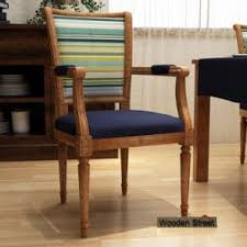 Image Solid Wood Wooden Arm Chair Wooden Street Arm Chairs Buy Wooden Arm Chair Online In India At Low Price